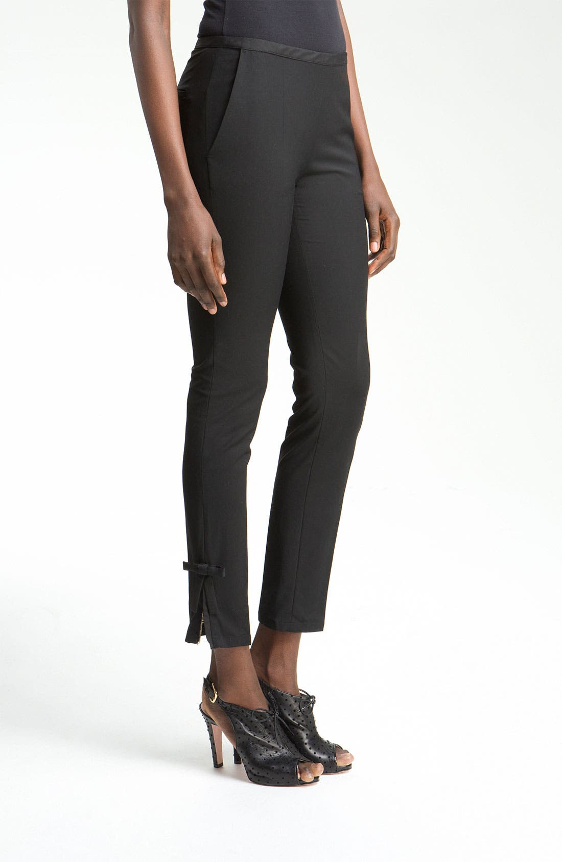 Alternate Image 2  - RED Valentino Slim Ankle Length Pants