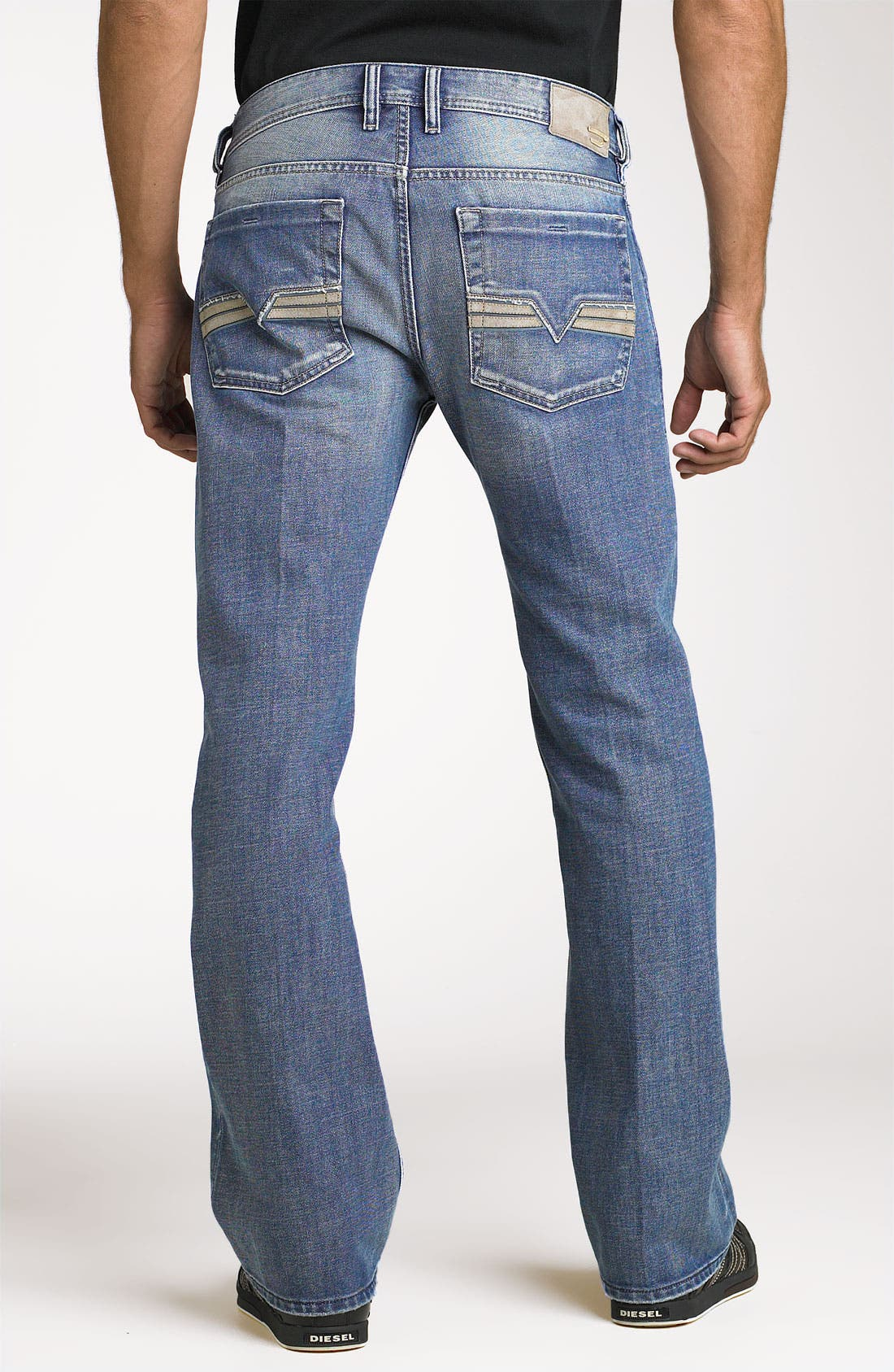 Main Image - DIESEL® 'Zatiny' Bootcut Jeans (8AT)