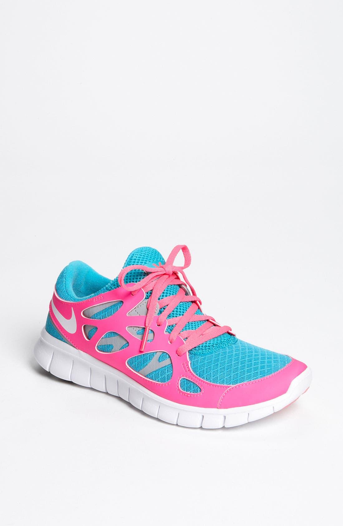 Alternate Image 1 Selected - Nike 'Free Run 2+' Running Shoe (Women)