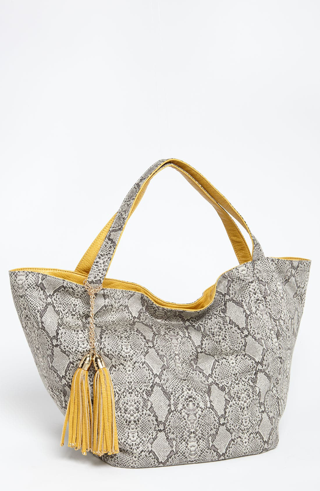 Main Image - Deux Lux 'Juno' Faux Leather Tote