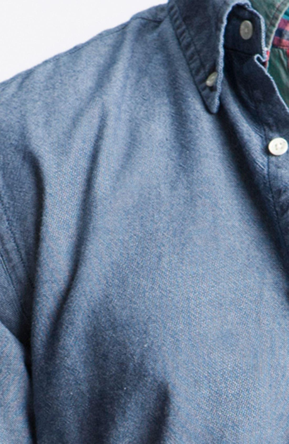 Alternate Image 3  - Gant Rugger Woven Oxford Shirt