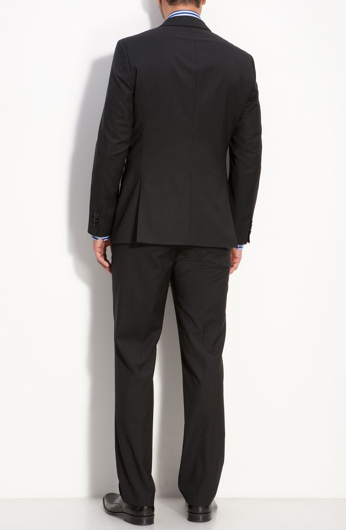 Alternate Image 3  - BOSS Black 'James/Sharp' Trim Fit Wool Suit