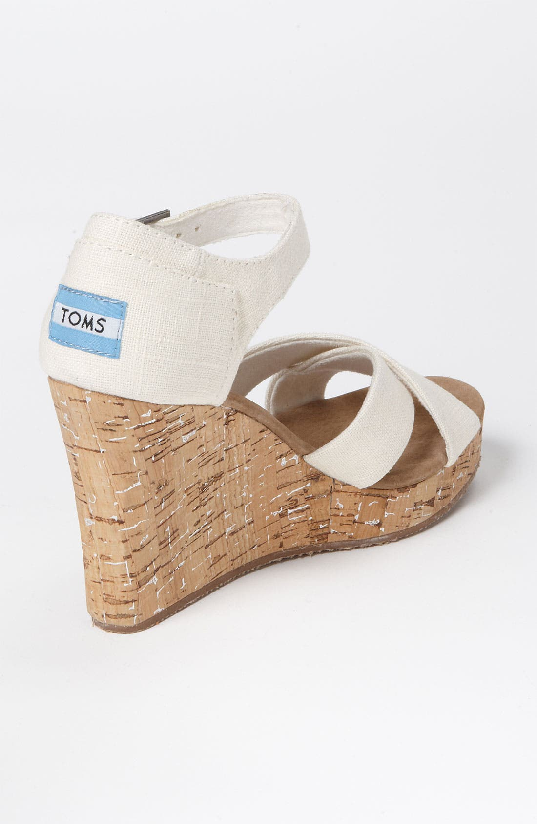 Alternate Image 2  - TOMS Linen Sandal