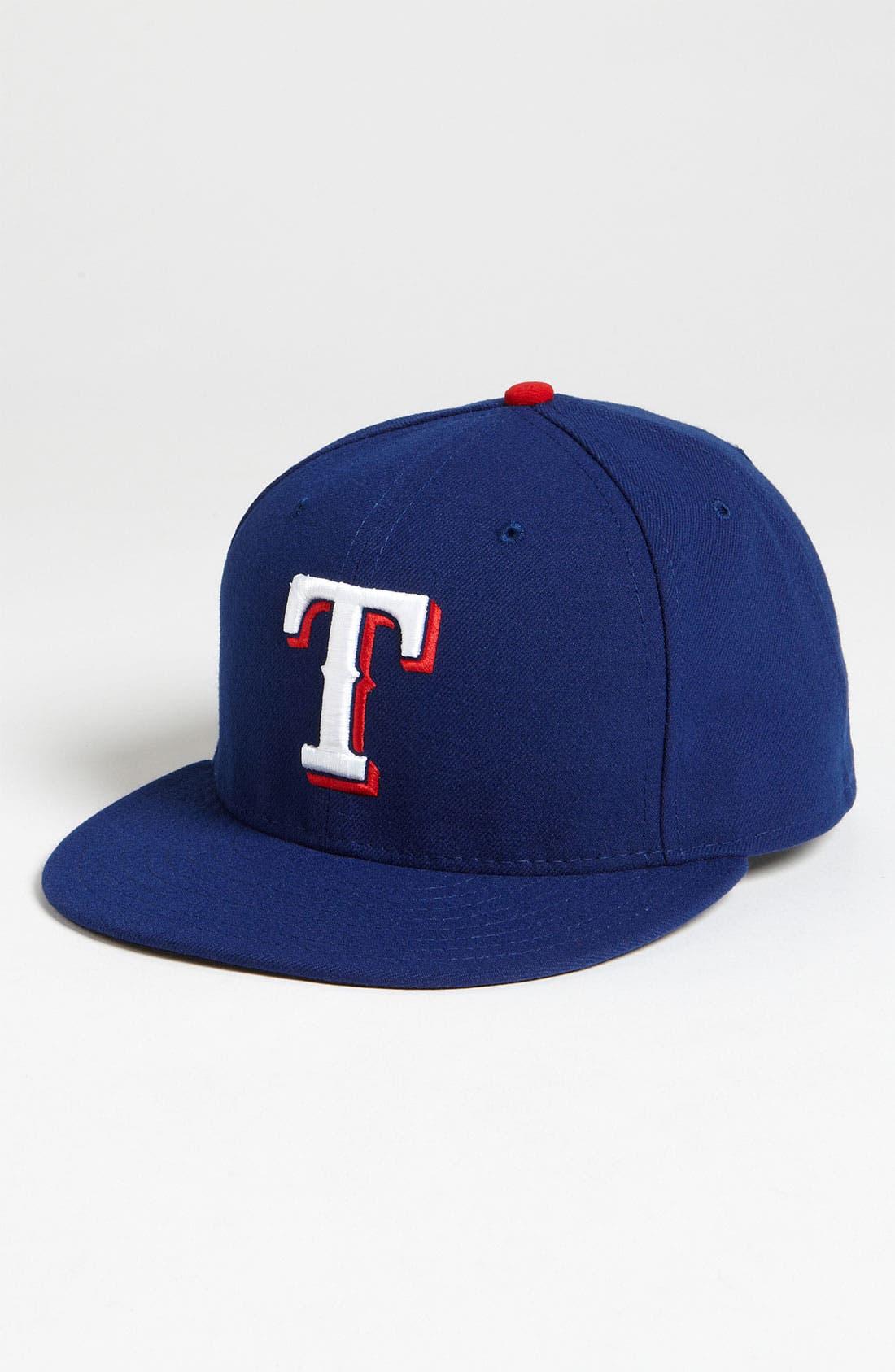 Main Image - New Era Cap 'Texas Rangers' Baseball Cap
