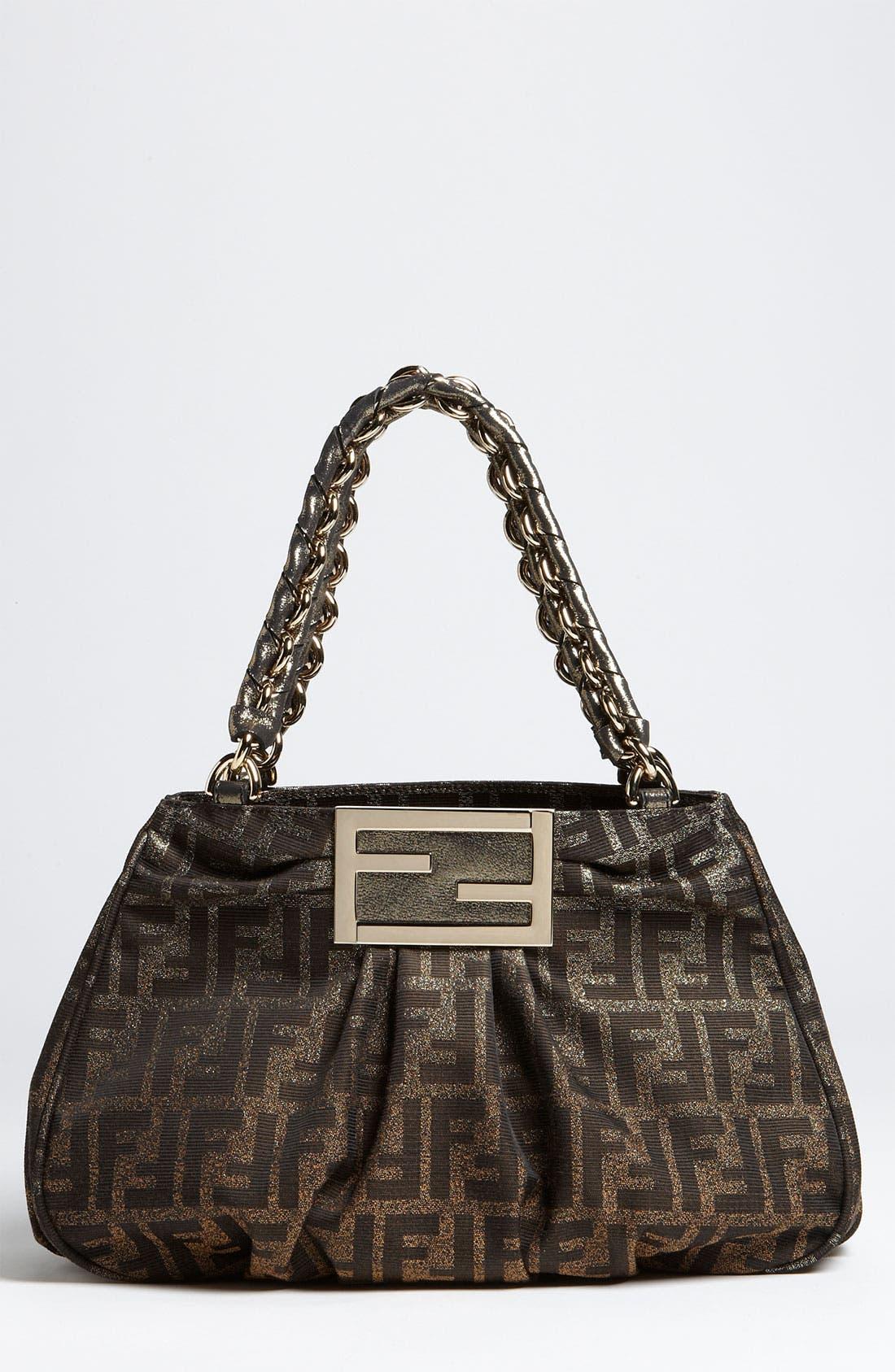 Alternate Image 1 Selected - Fendi 'Mia - Small' Shopper