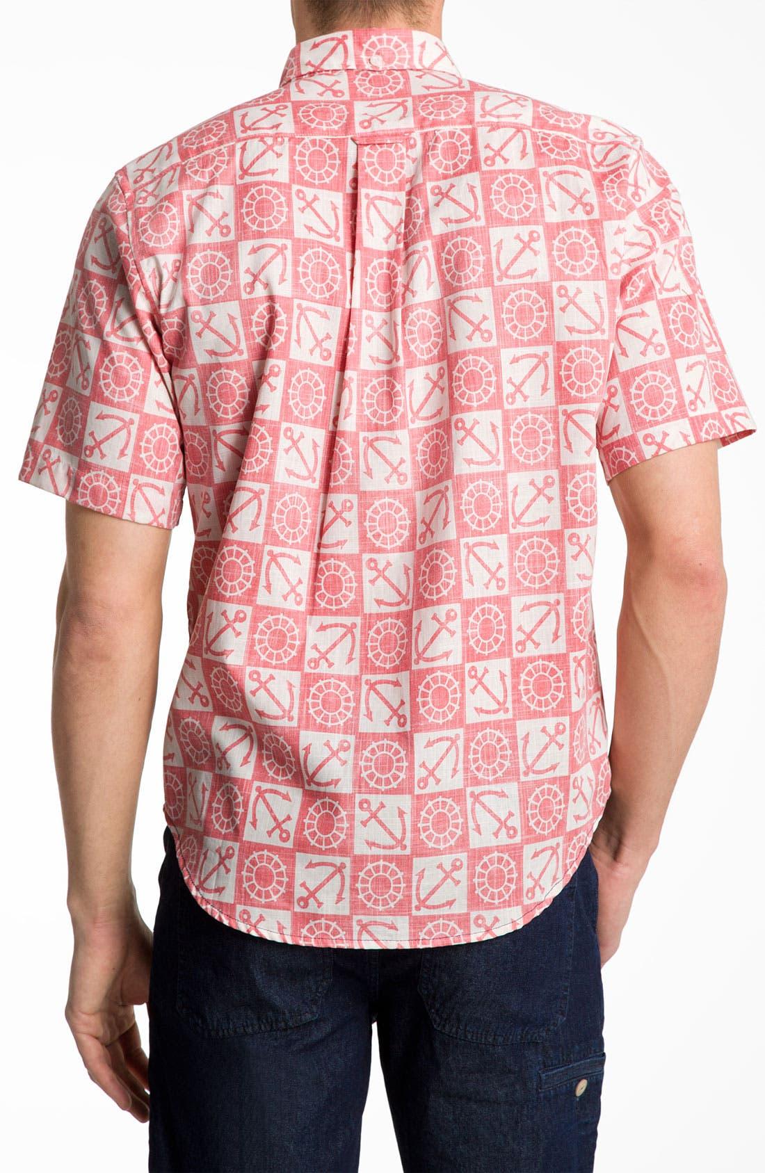 Alternate Image 2  - Reyn Spooner 'Ko Olina Harbor' Woven Shirt.