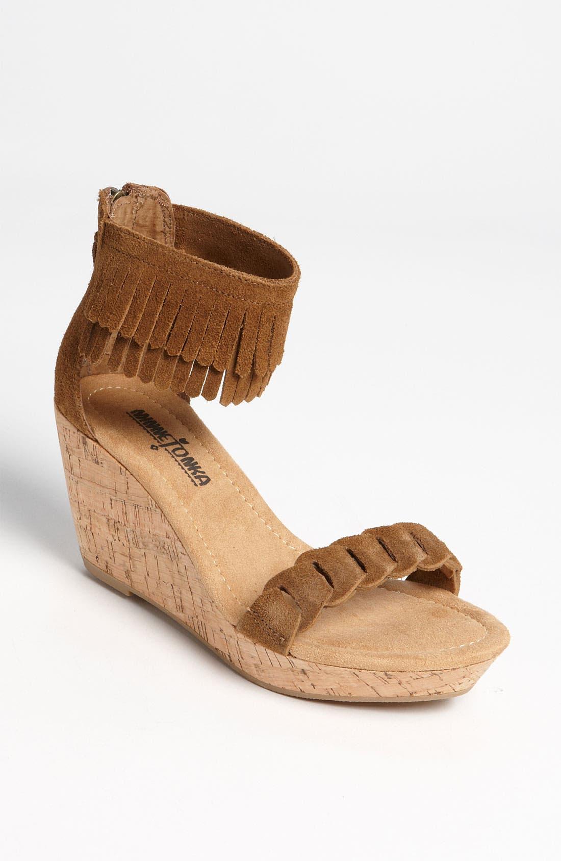 Alternate Image 1 Selected - Minnetonka 'Nicki' Sandal