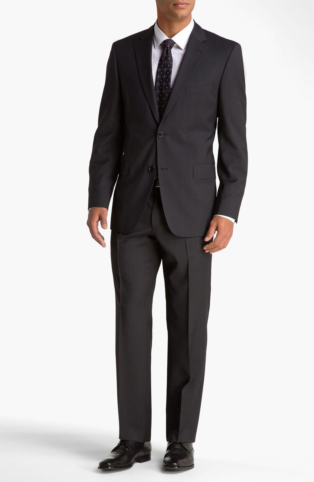 Alternate Image 2  - BOSS Black 'Pasini/Movie' Stripe Suit