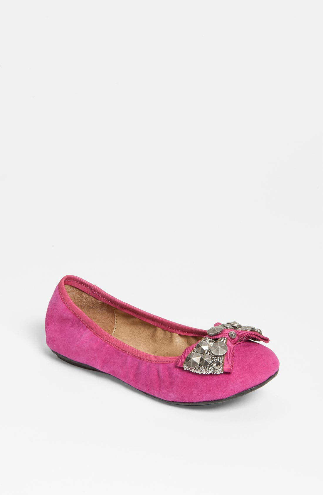 Alternate Image 1 Selected - Nordstrom 'Kelsey' Flat (Toddler, Little Kid & Big Kid)