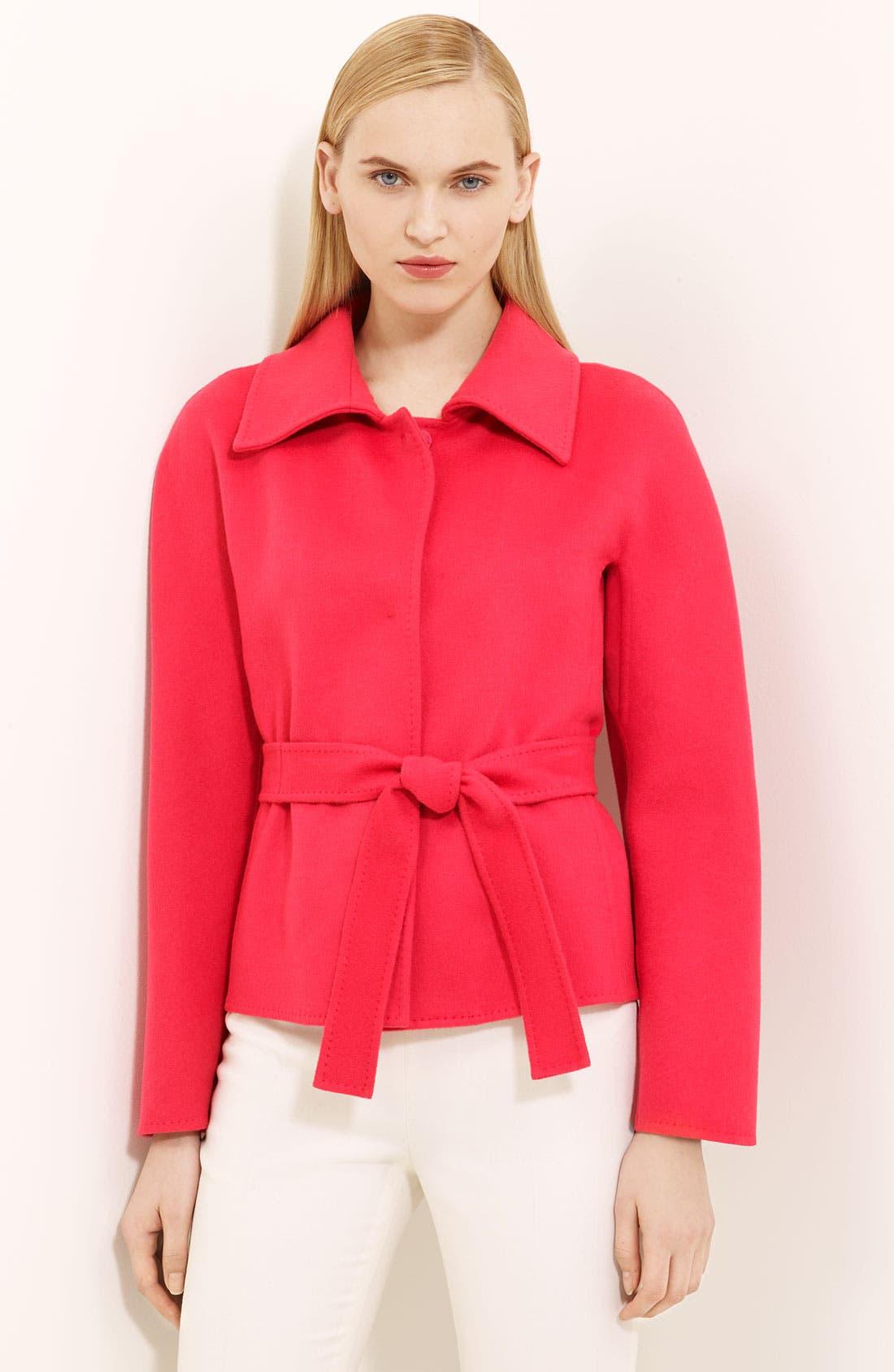 Alternate Image 1 Selected - Max Mara 'Sandra' Belted Jacket