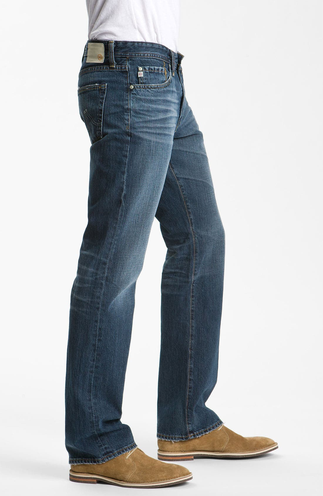 Alternate Image 3  - AG Jeans 'Protégé' Straight Leg Jeans (5 Year Overdyed)