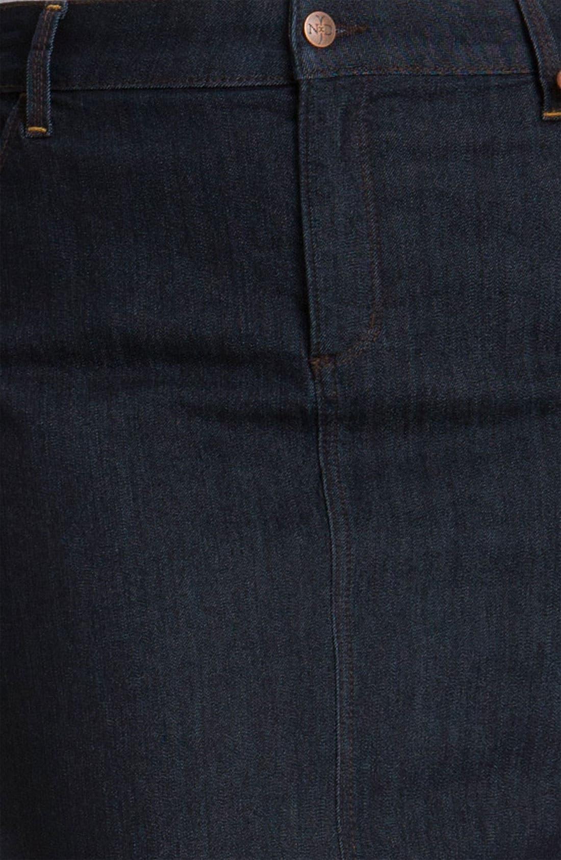 Alternate Image 3  - NYDJ 'Emma' Stretch Twill Skirt (Plus Size)