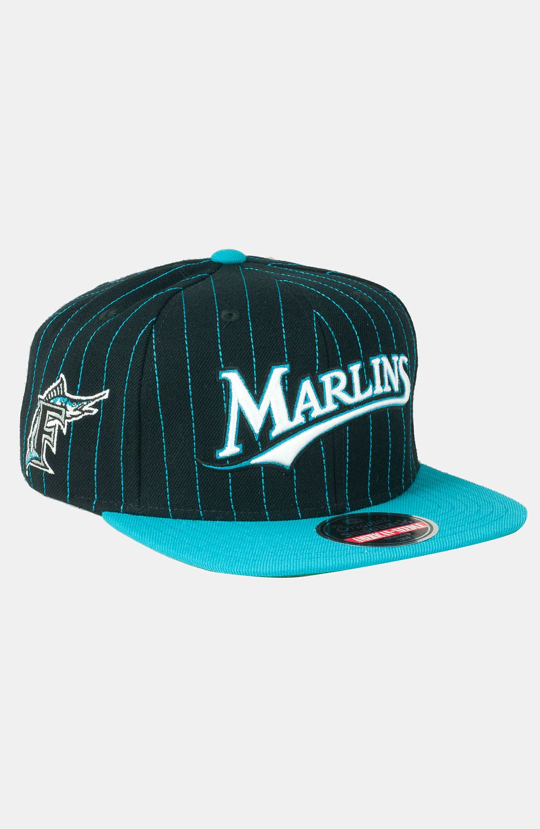 Alternate Image 1 Selected - American Needle 'Marlins' Snapback Baseball Cap