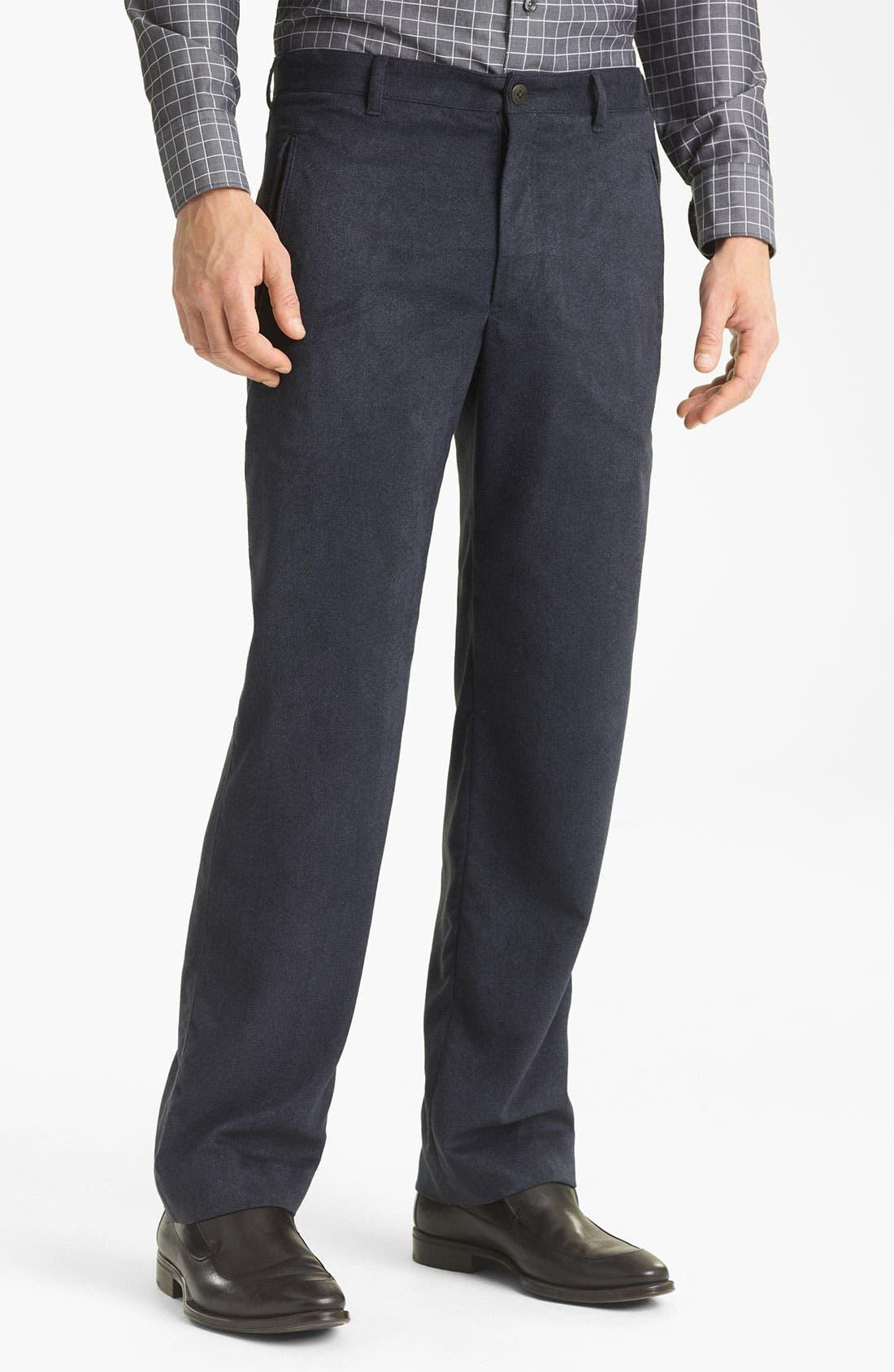 Alternate Image 1 Selected - Armani Collezioni Dress Pants