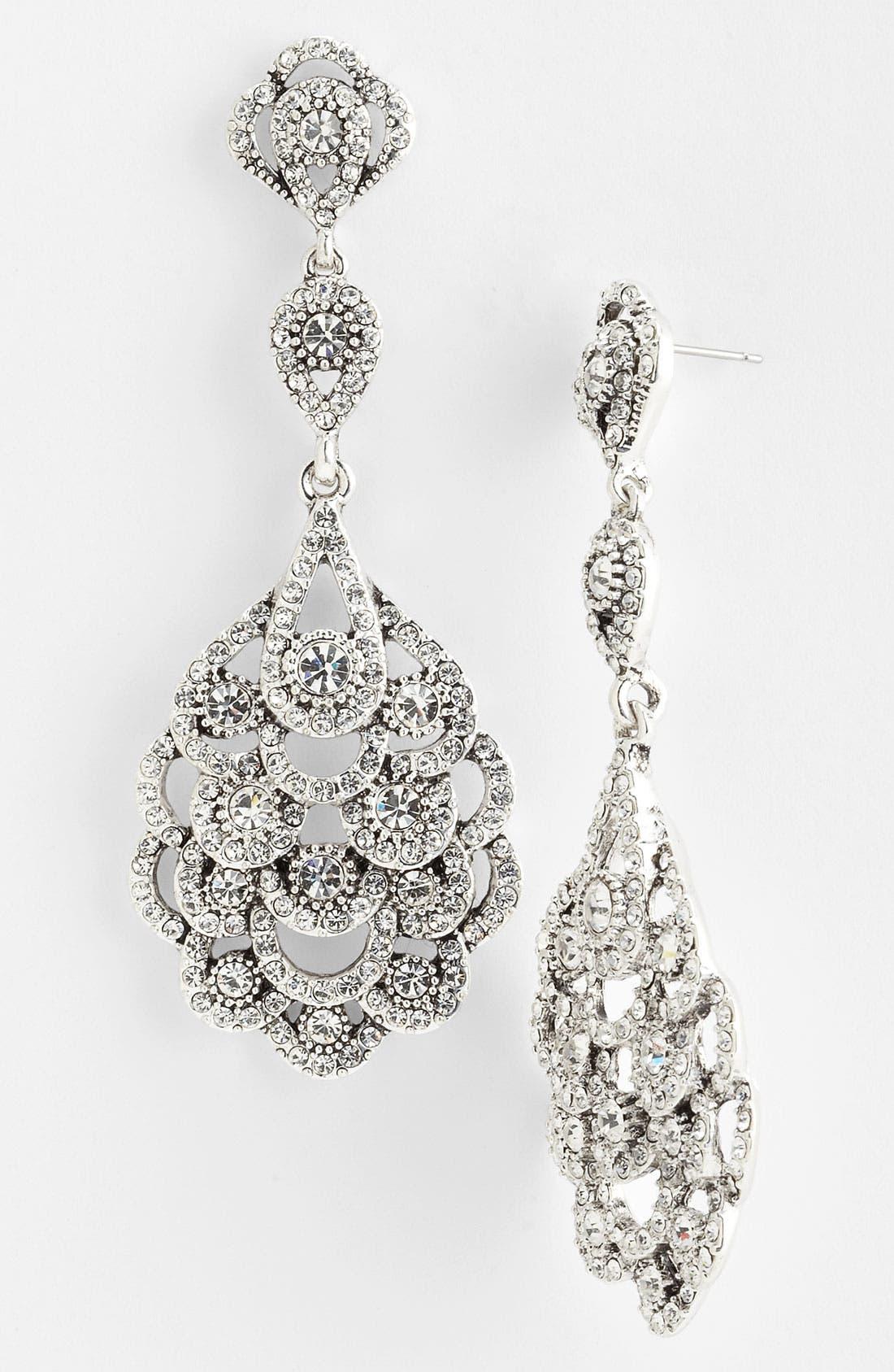 Alternate Image 1 Selected - Nina 'Eiffel' Statement Drop Earrings