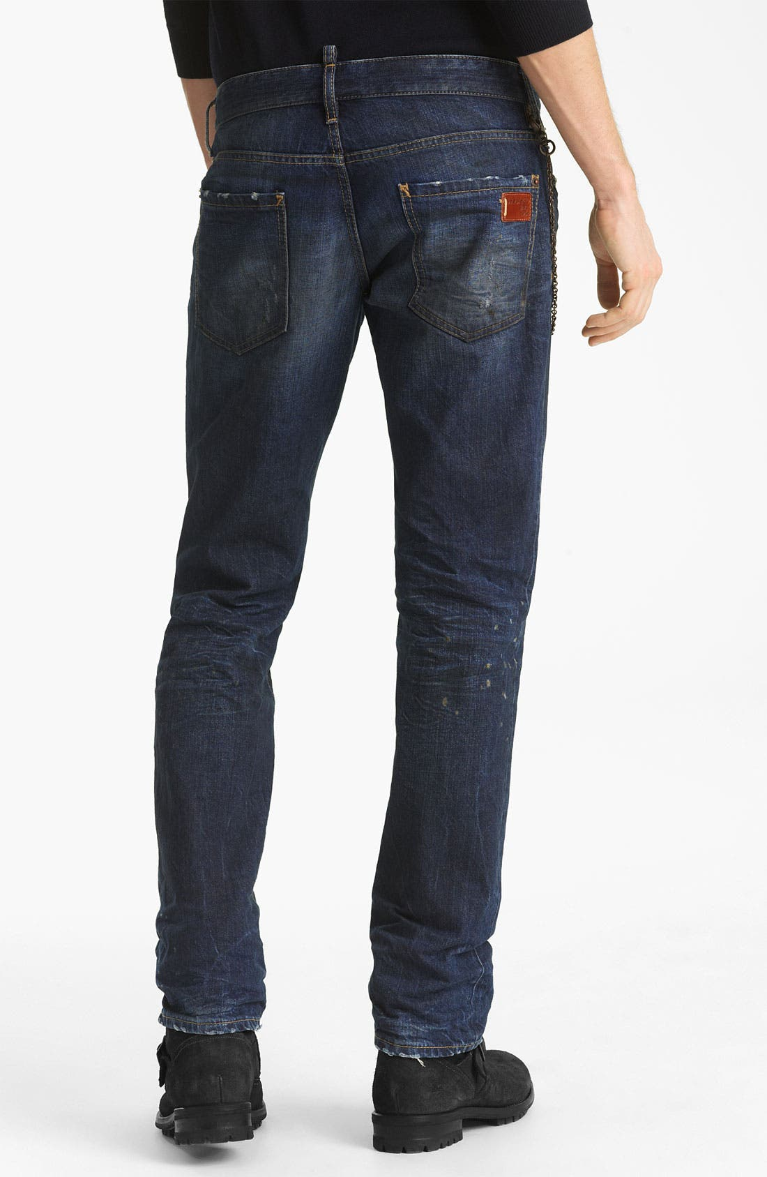 Alternate Image 1 Selected - Dsquared2 Slim Fit Jeans (Grease Monkey)