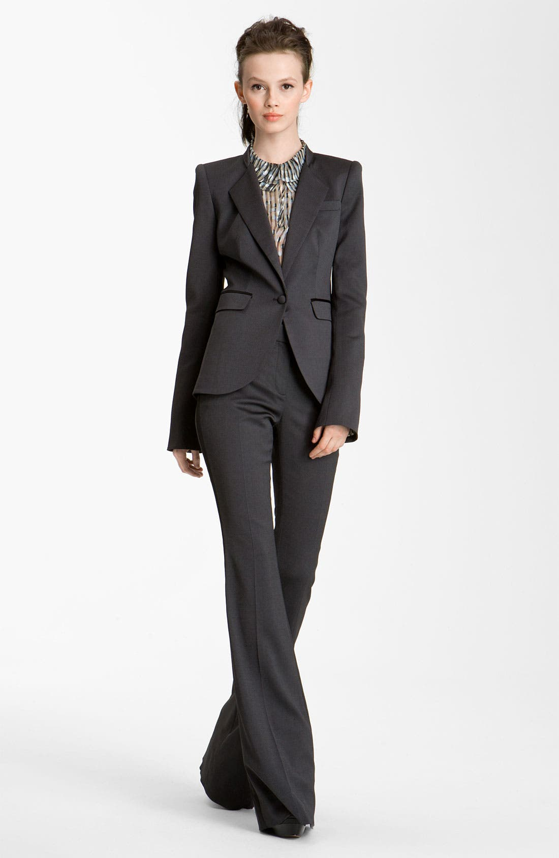 Alternate Image 1 Selected - Rachel Zoe 'Hutton' Satin Trim Jacket