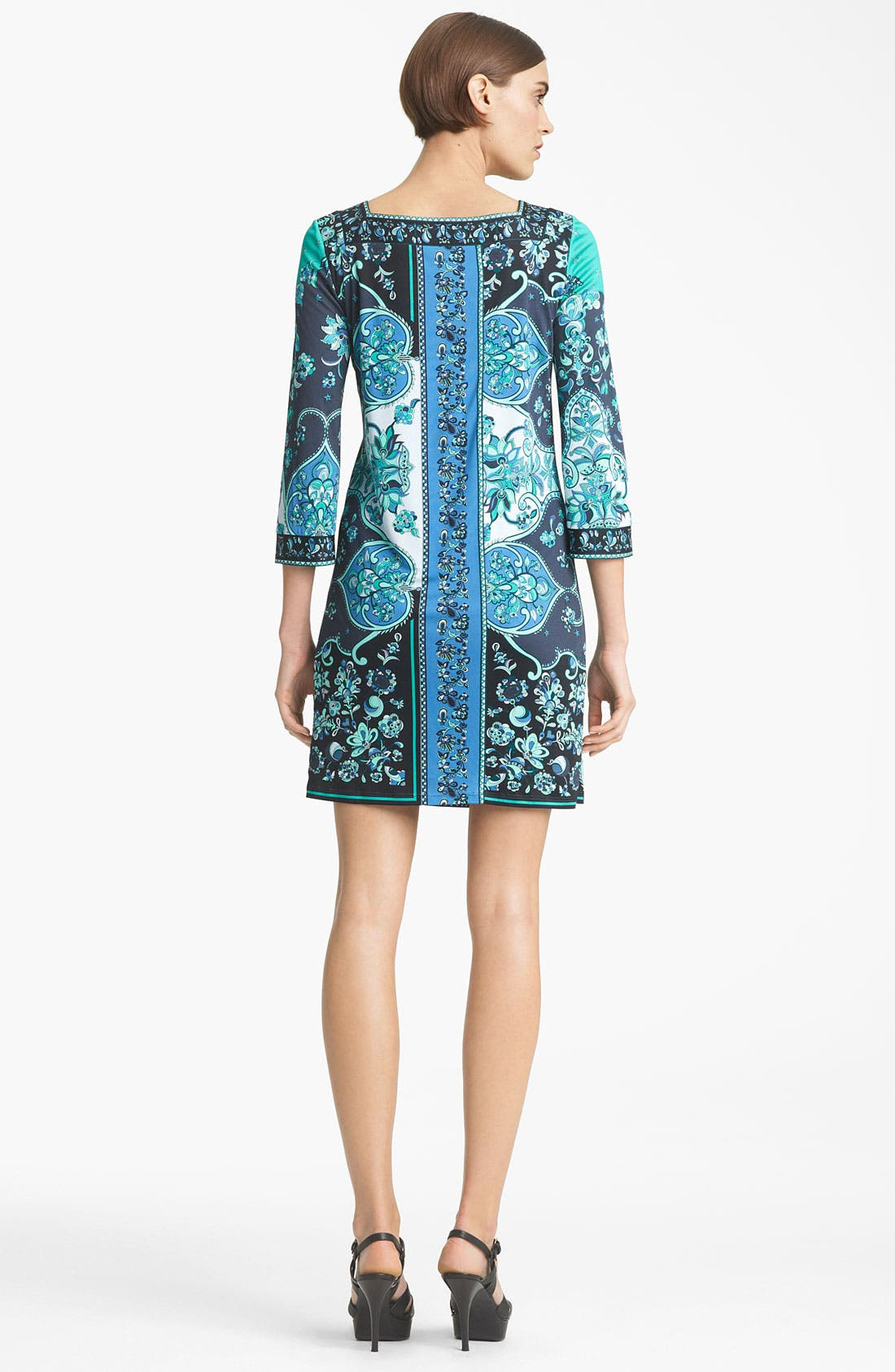 Alternate Image 2  - Emilio Pucci Print Jersey Shift Dress