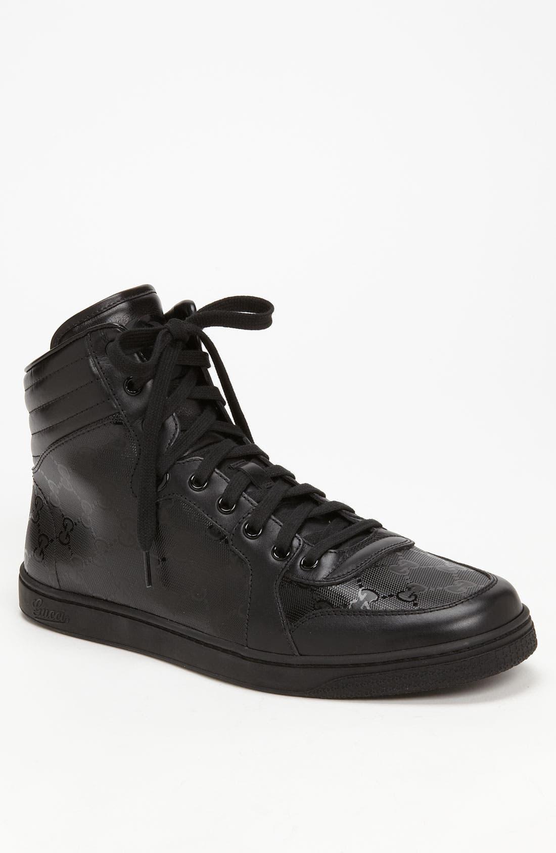 Alternate Image 1 Selected - Gucci 'Coda' High Top Sneaker