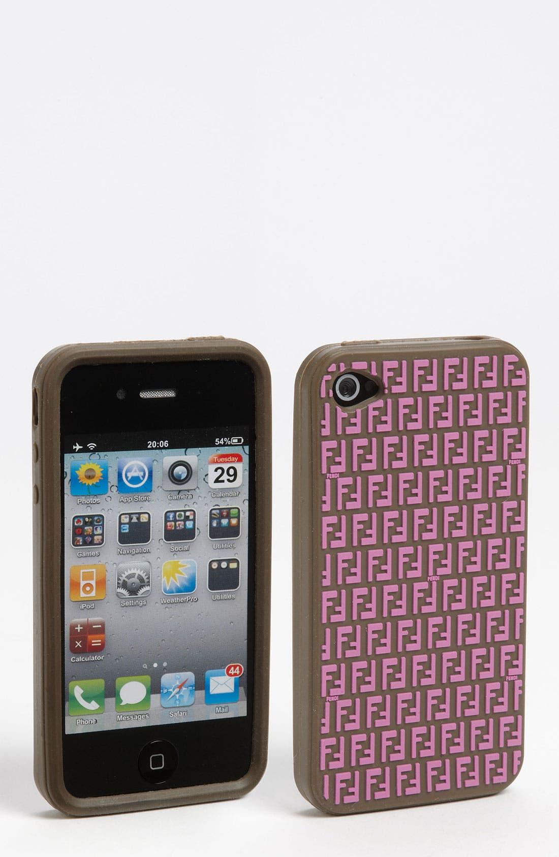 Main Image - Fendi iPhone 4 & 4S Case