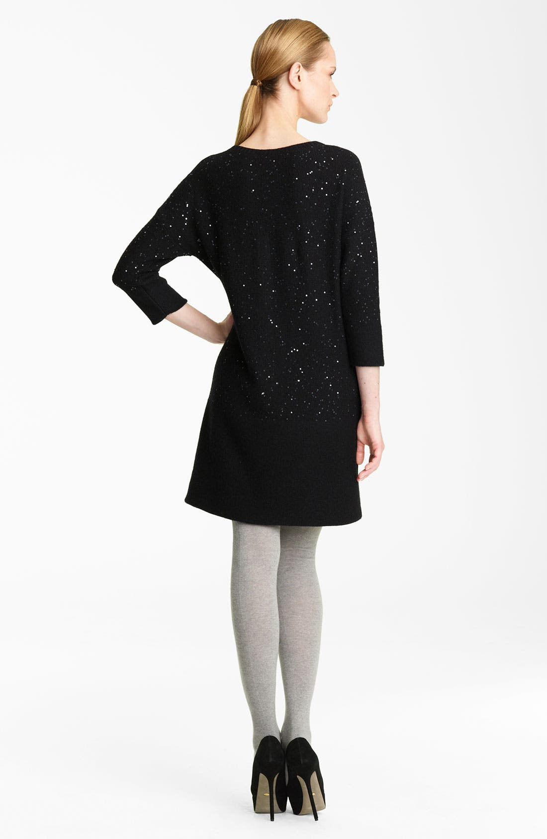 Alternate Image 2  - Fabiana Filippi Sequin Detail Knit Dress