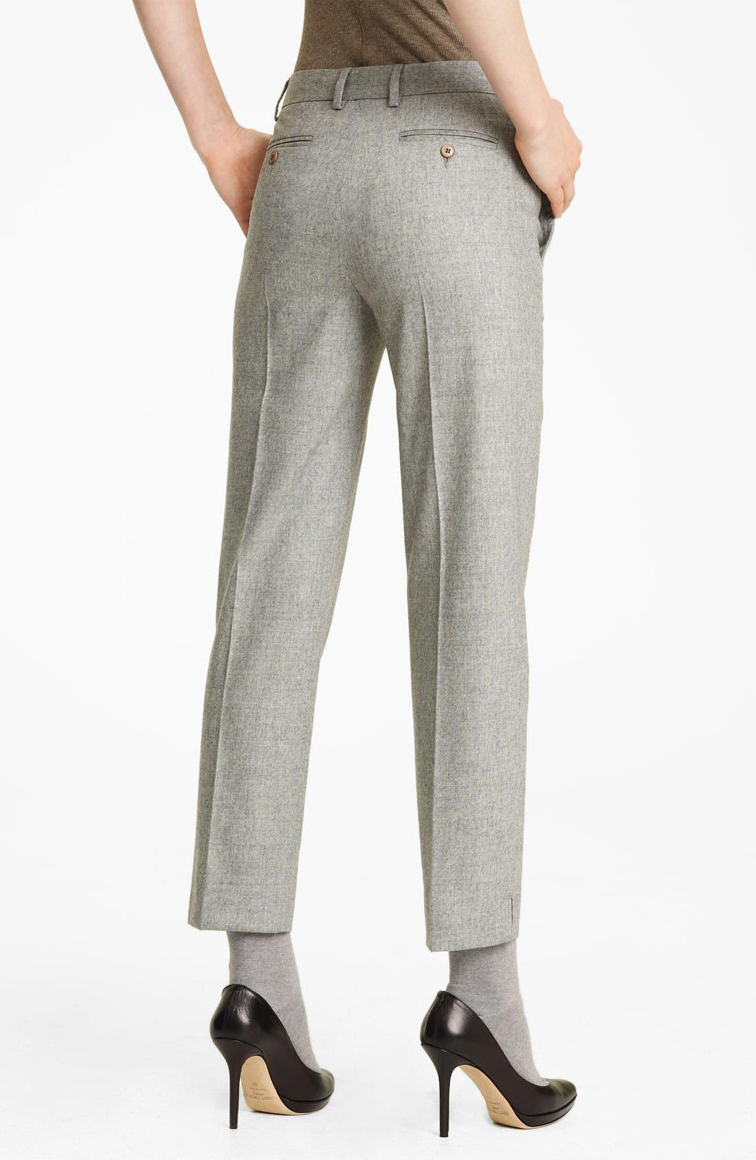 Alternate Image 2  - Fabiana Filippi Crop Flannel Pants