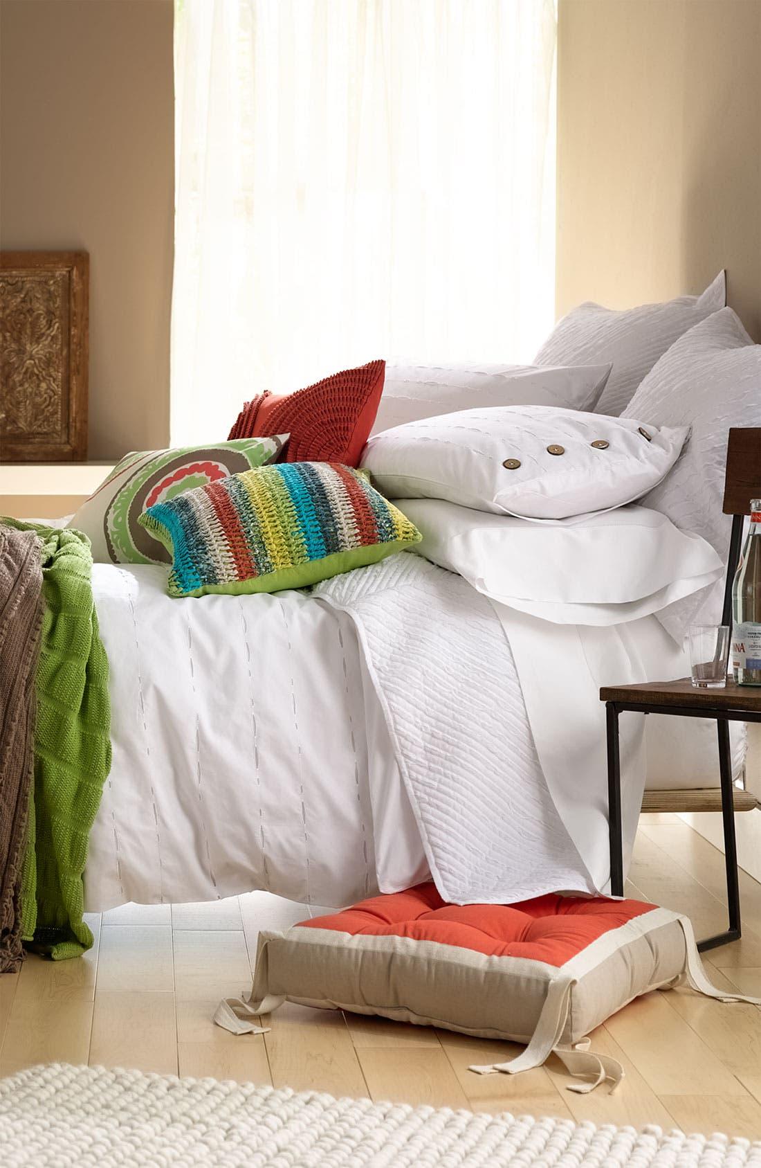Alternate Image 2  - Nordstrom at Home 'Woven Stripe' Pillow
