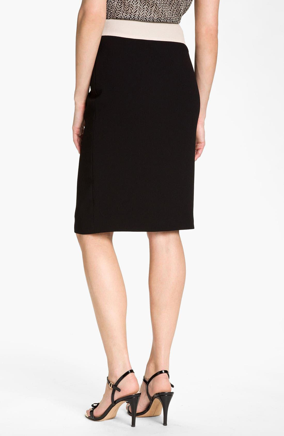 Alternate Image 2  - Rachel Roy Abstract Colorblock Skirt