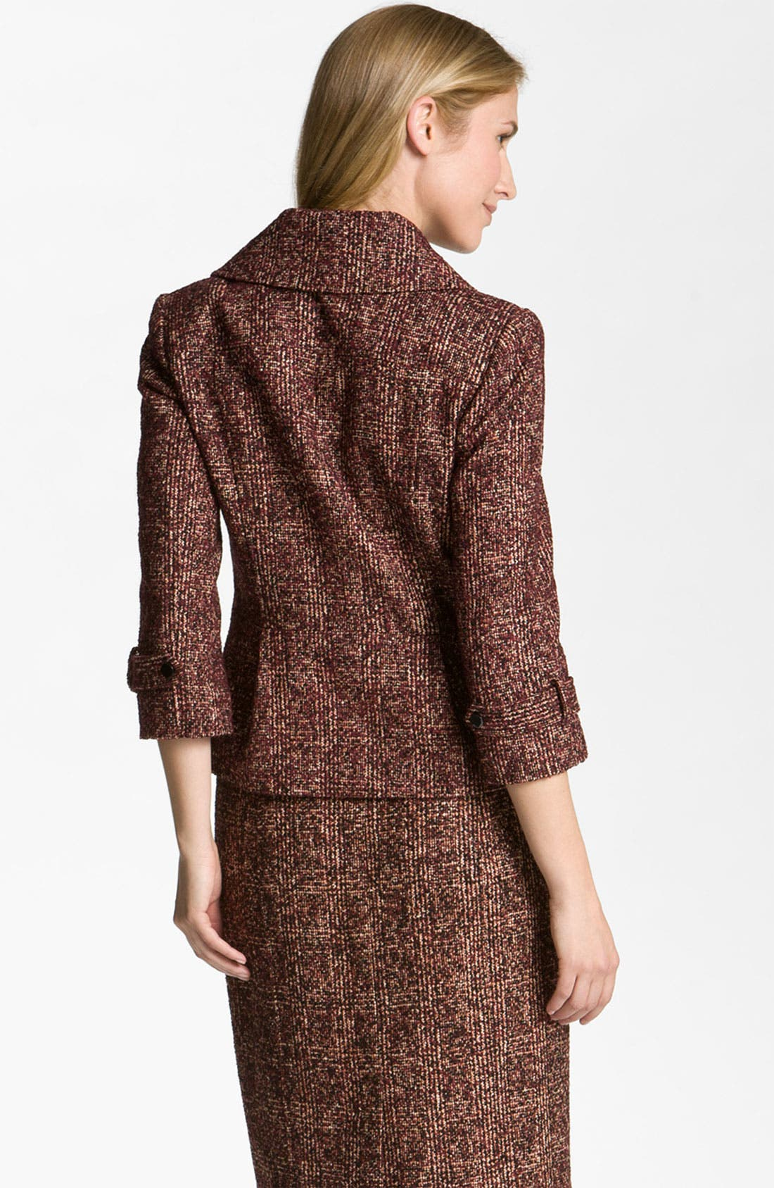 Alternate Image 2  - Nordstrom Collection 'Cambon' Tweed Jacket