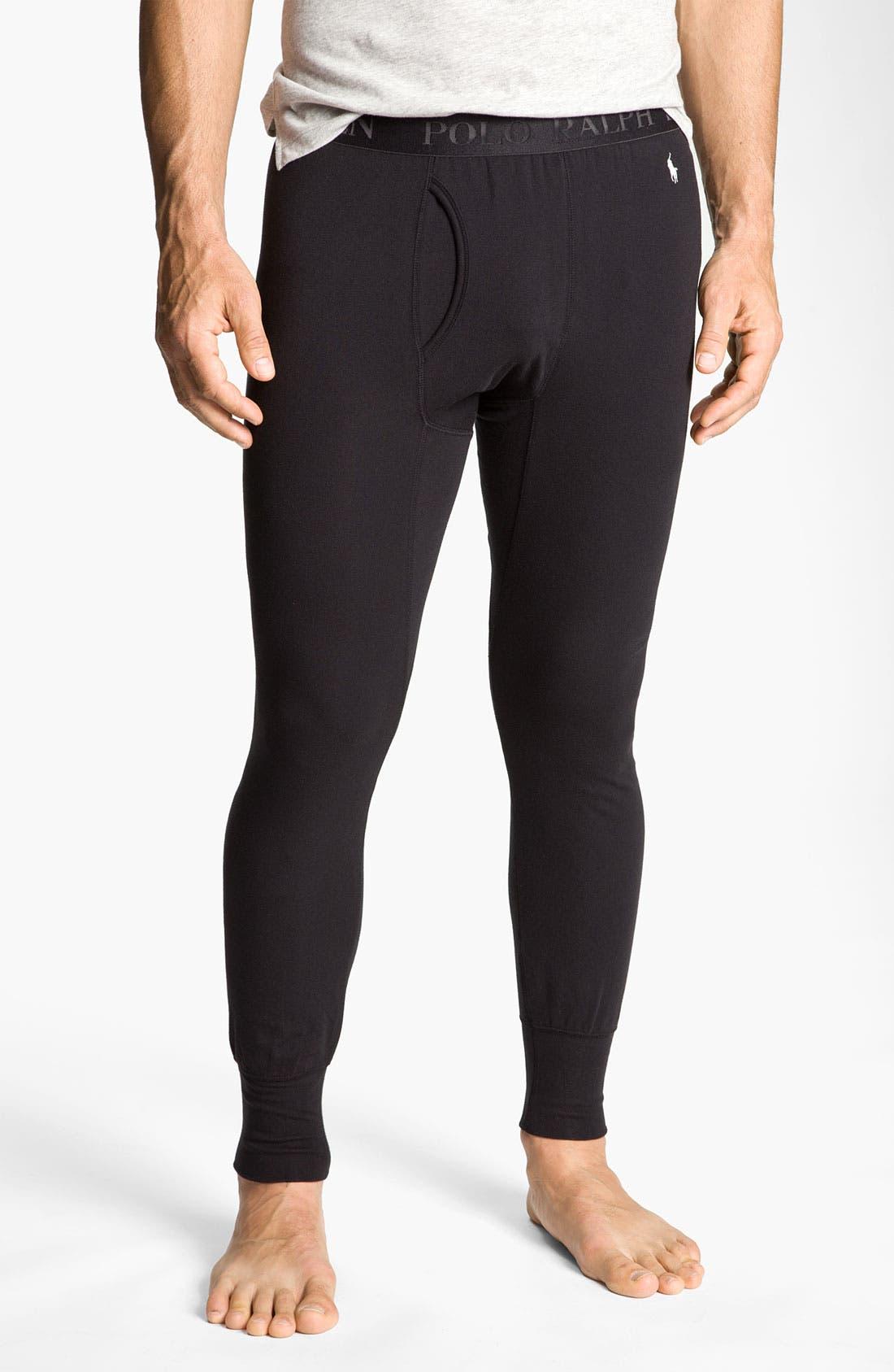 Alternate Image 1 Selected - Polo Ralph Lauren Stretch Cotton Long Underwear