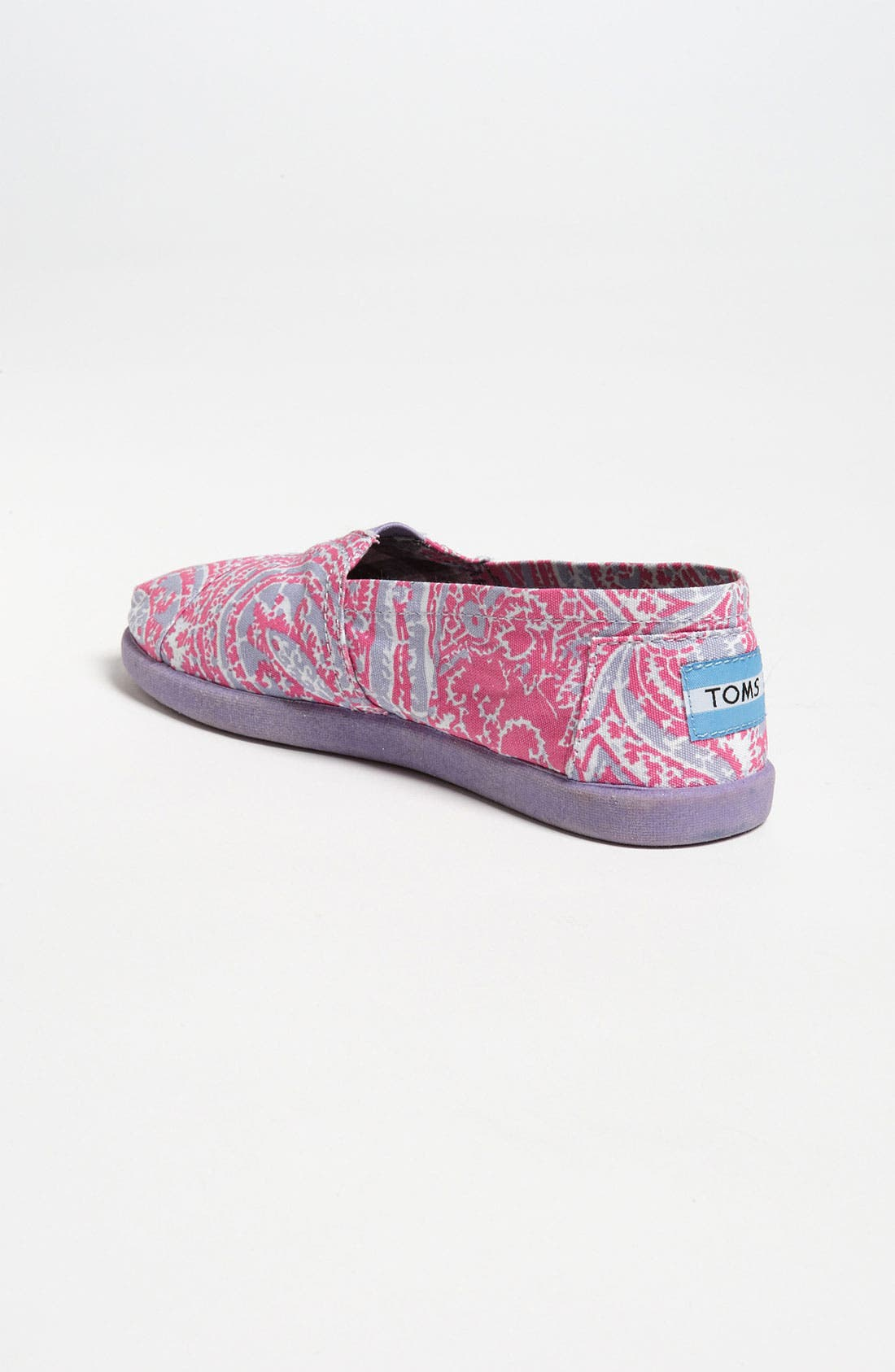 Alternate Image 2  - TOMS 'Classic Youth - Paisley' Slip-On (Toddler, Little Kid & Big Kid)