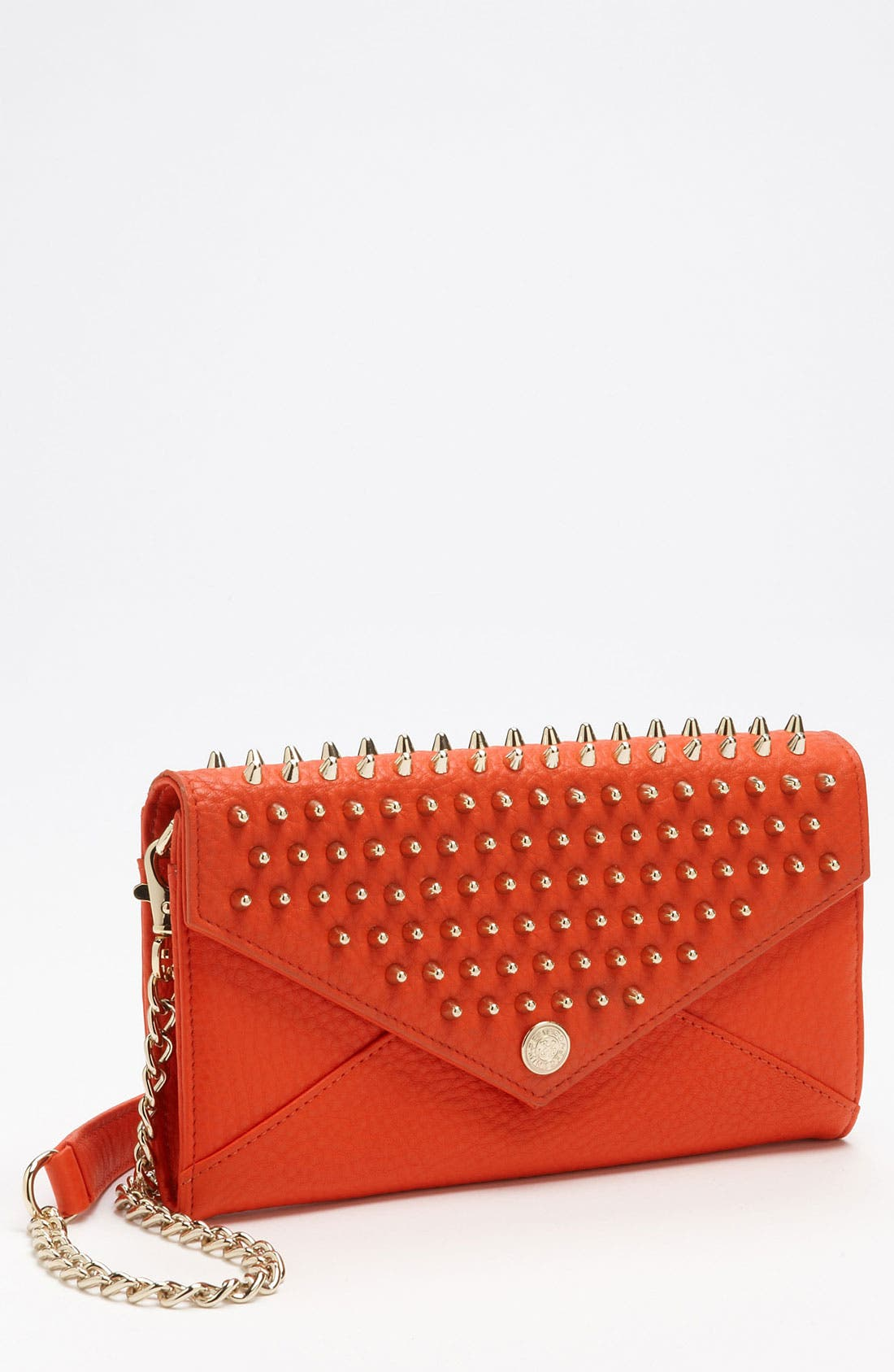 Main Image - Rebecca Minkoff Studded Wallet on a Chain