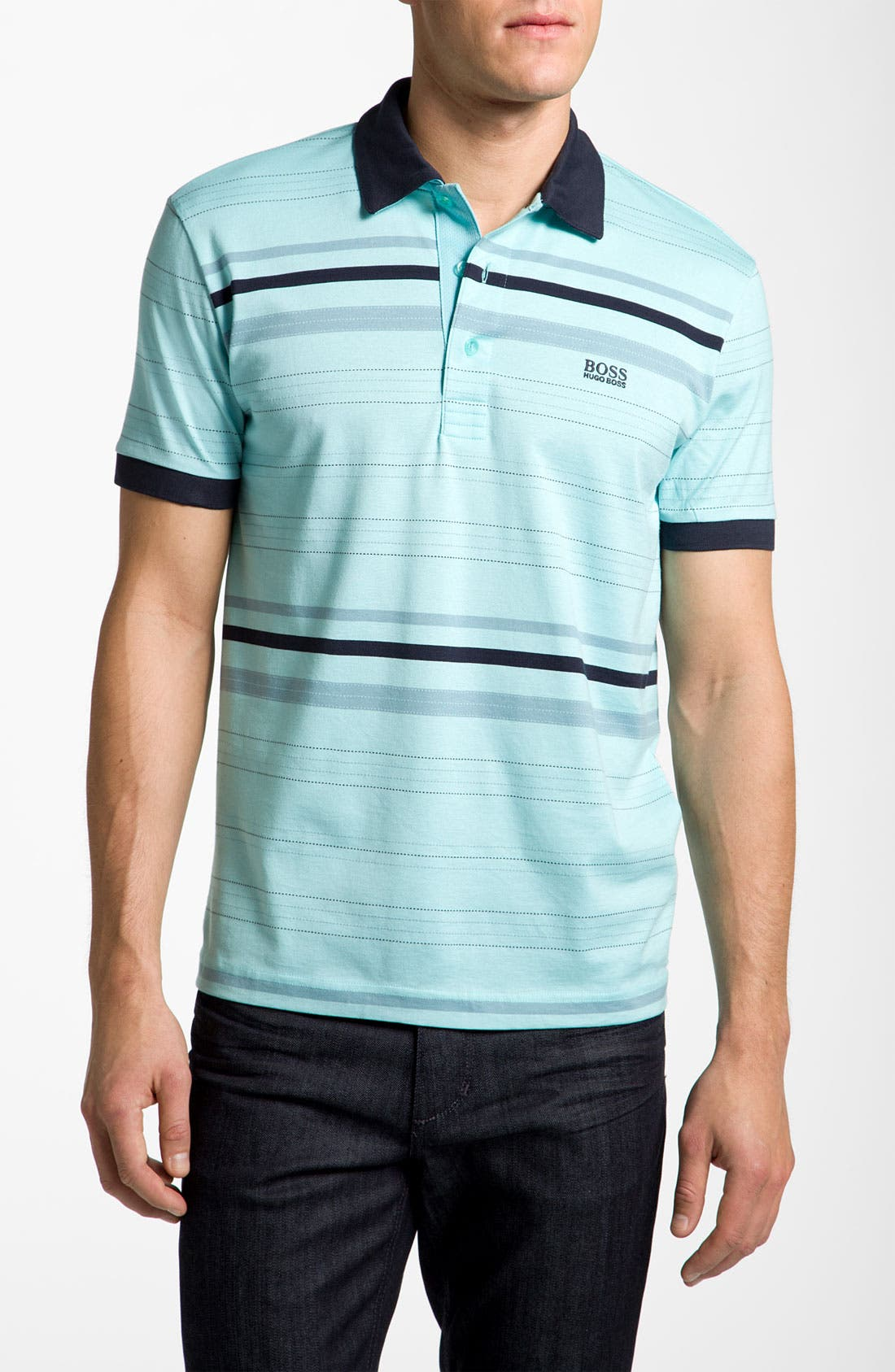 Alternate Image 1 Selected - BOSS Green 'Paule' Slim Fit Sport Shirt