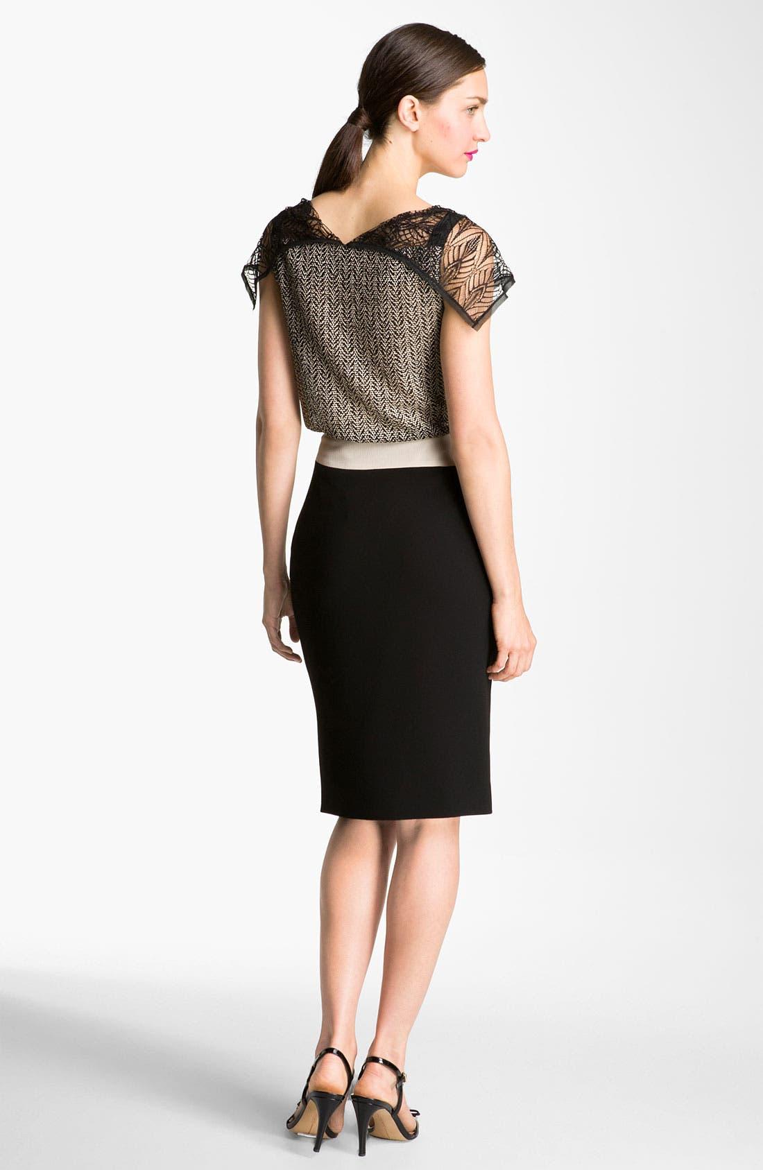 Alternate Image 5  - Rachel Roy Abstract Colorblock Skirt