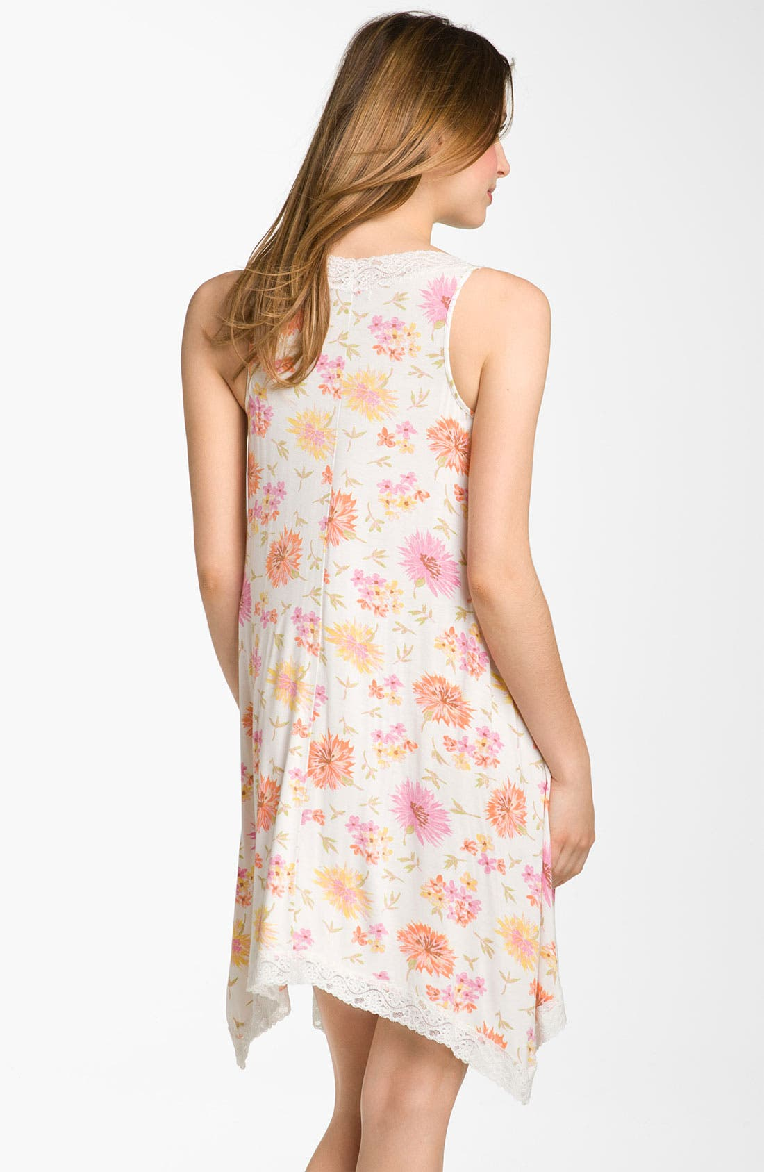 Alternate Image 2  - Midnight by Carole Hochman 'Garden Sunset' Chemise