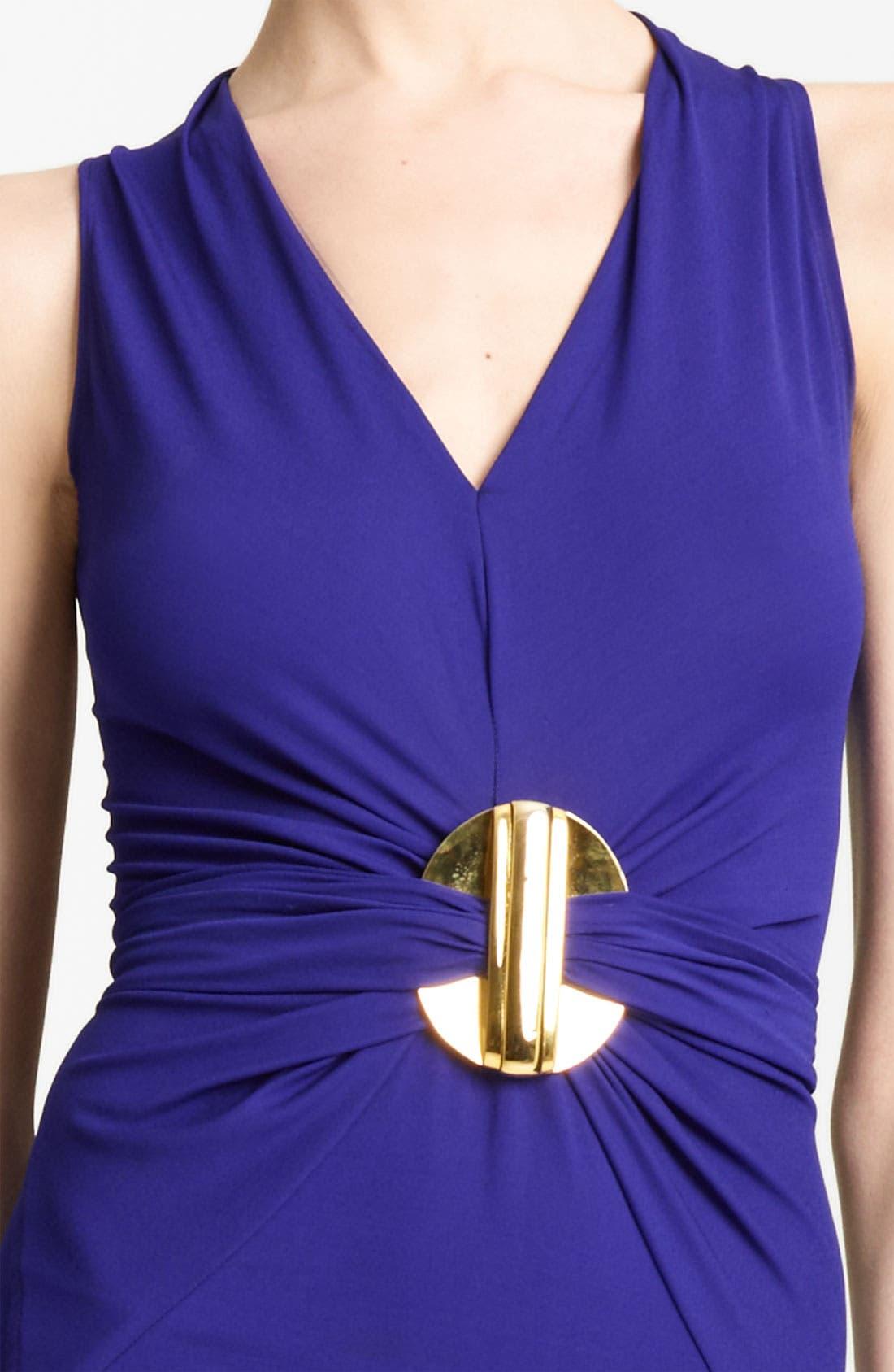 Alternate Image 3  - Donna Karan Collection Hardware Detail Jersey Dress