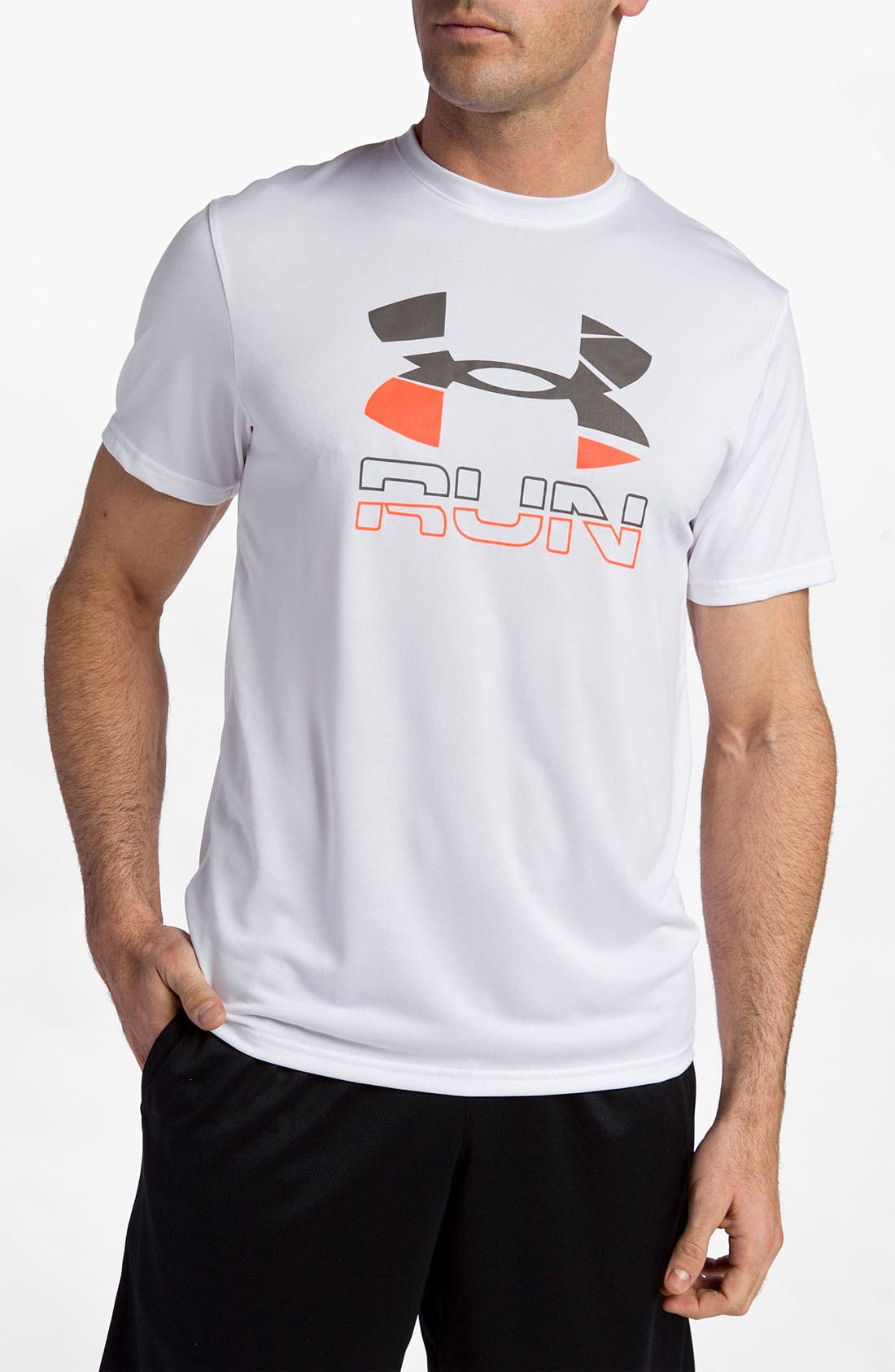 Alternate Image 1 Selected - Under Armour 'Run Graphic' T-Shirt