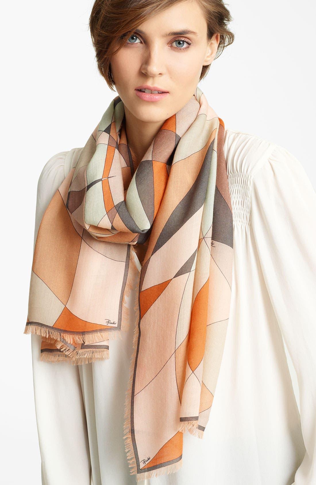 Alternate Image 1 Selected - Emilio Pucci 'Fantasia' Wool Scarf