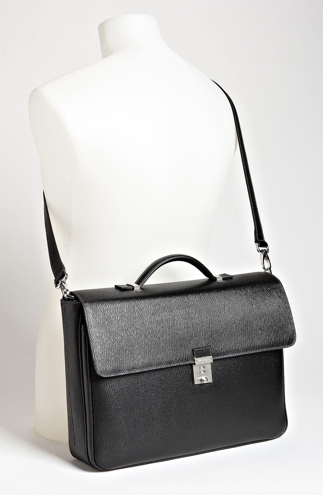 Alternate Image 4  - Salvatore Ferragamo 'Revival' Briefcase
