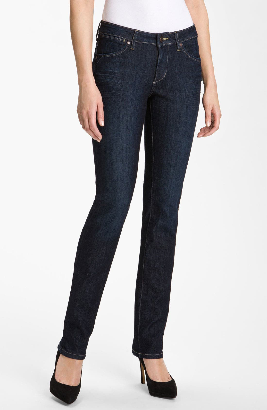 Alternate Image 1 Selected - Jag Jeans 'New Jane' Slim Leg Jeans (Petite)