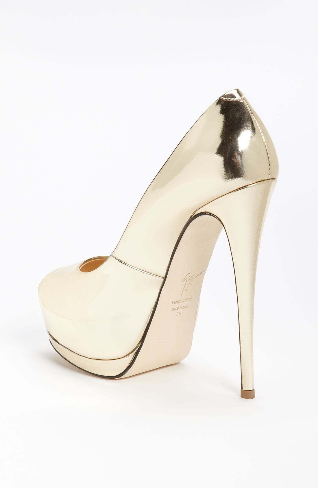 Alternate Image 2  - Giuseppe Zanotti Open Toe Pump