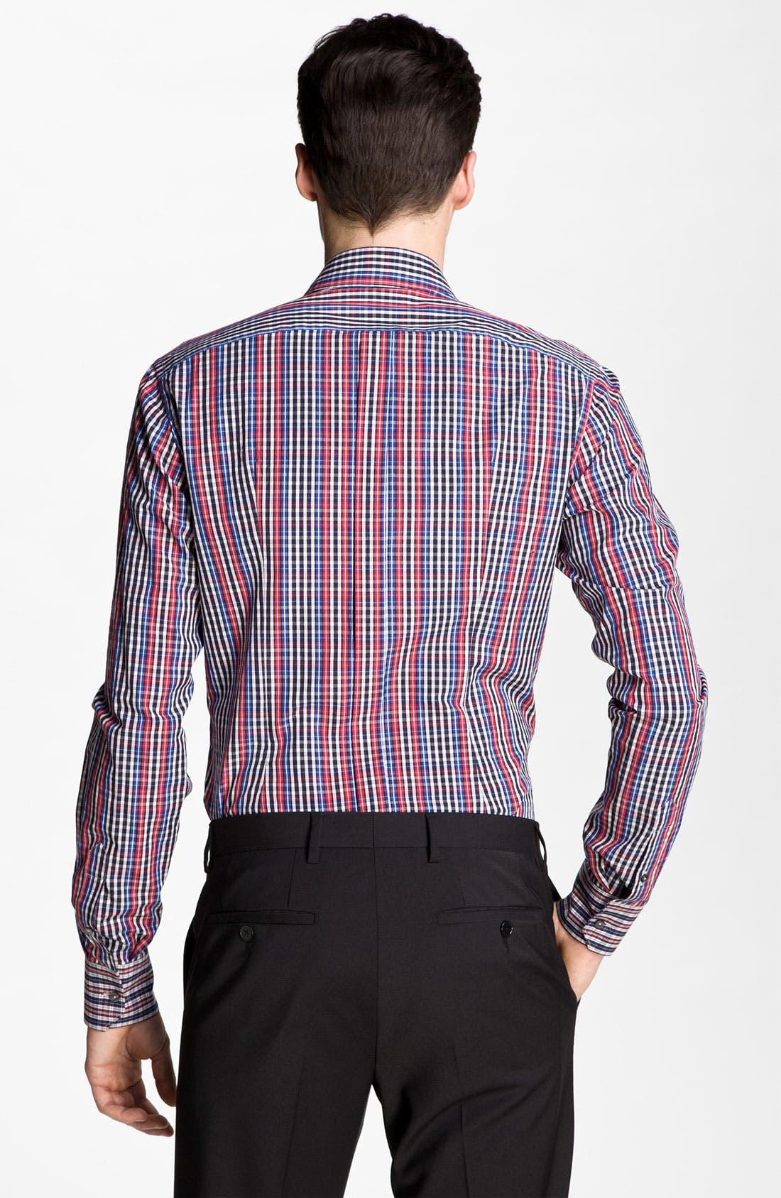 Alternate Image 2  - Dolce&Gabbana Plaid Sport Shirt