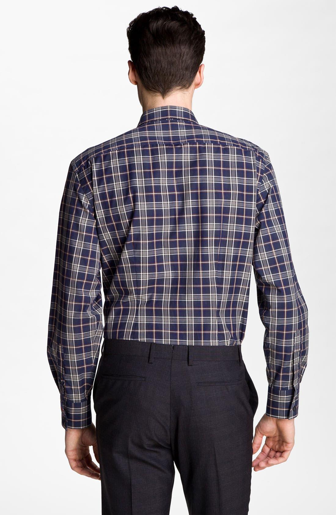 Alternate Image 2  - PS Paul Smith Windowpane Check Dress Shirt