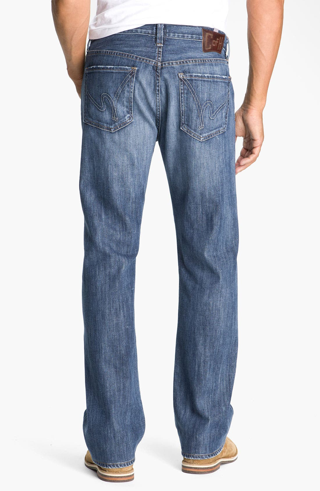 Alternate Image 1  - Citizens of Humanity 'Perfect' Casual Fit Straight Leg Jeans (Stud)