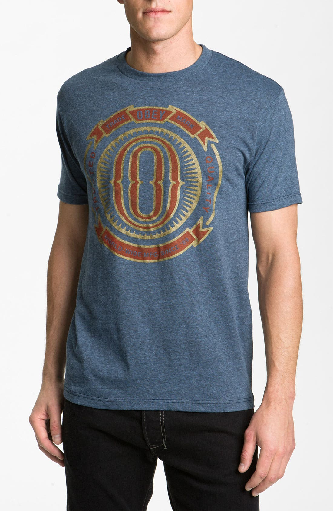 Alternate Image 1 Selected - Obey 'O-Badge' T-Shirt