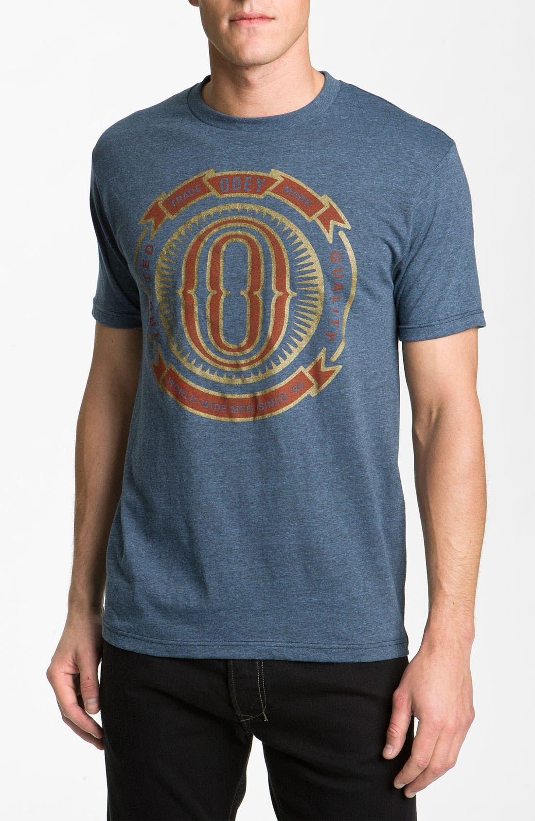 Main Image - Obey 'O-Badge' T-Shirt