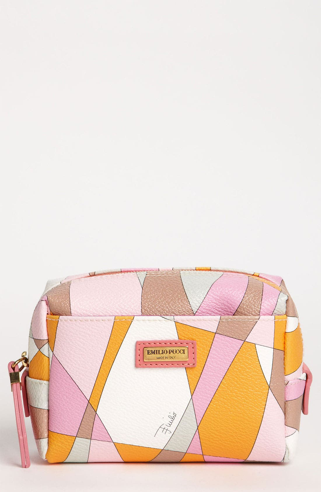 Alternate Image 1 Selected - Emilio Pucci 'Small' Cosmetics Pouch