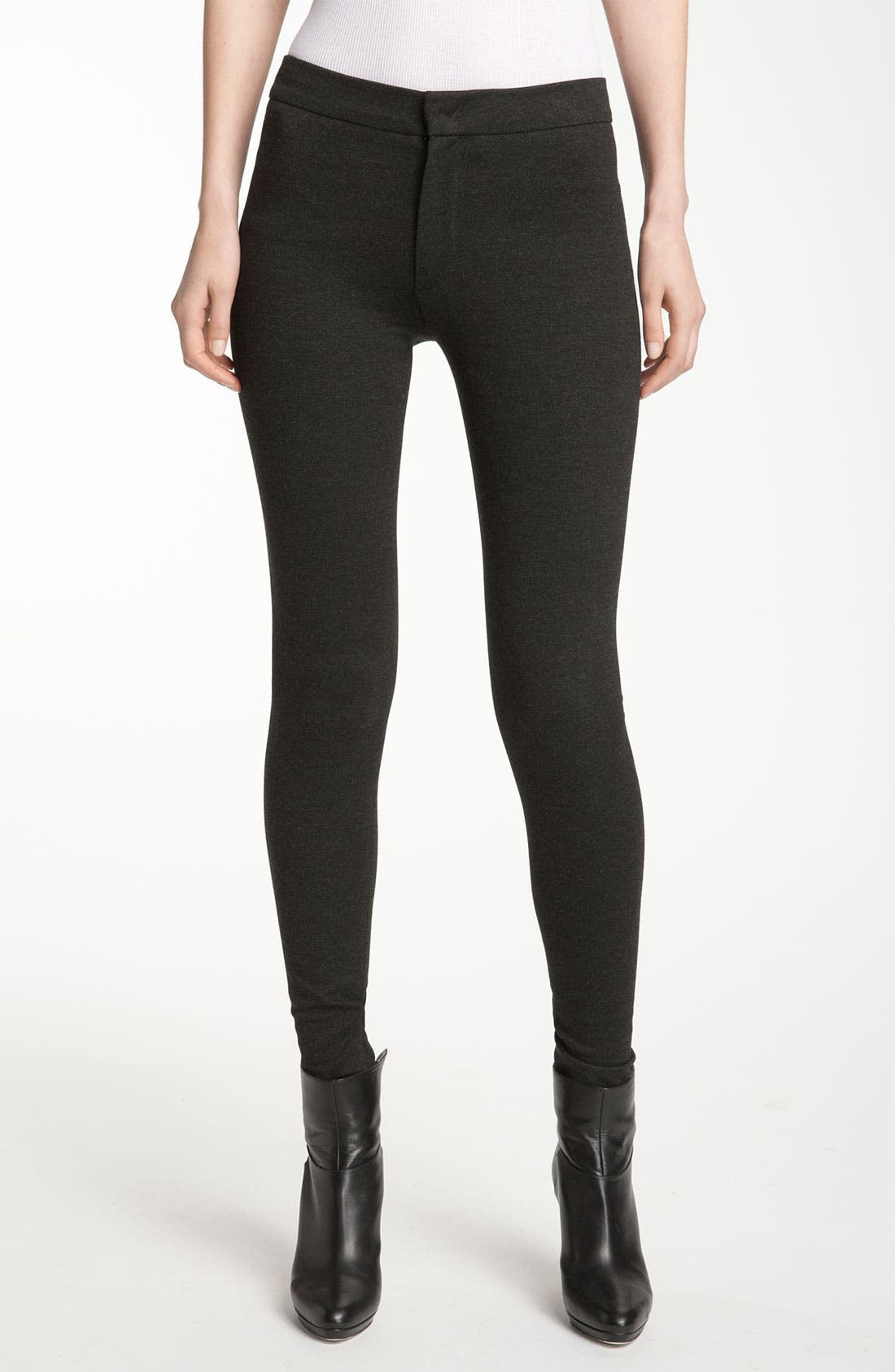 Alternate Image 1 Selected - Vince Zip Hem Leggings
