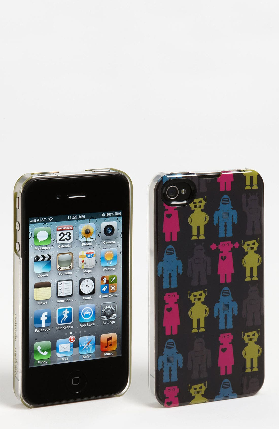 Main Image - Aimée Wilder 'Pop Robot' iPhone 4 & 4S Case