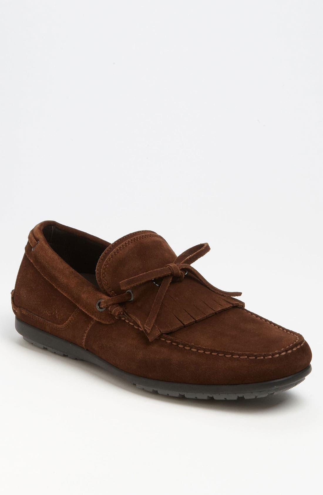 Alternate Image 1 Selected - Salvatore Ferragamo 'Albero' Kiltie Driving Shoe